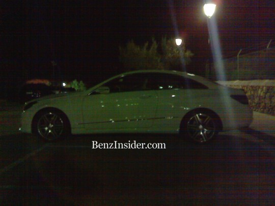 mercedes benz e class coupe spy shots exterior2 540x405 Exclusive Spy Shots of the Next Gen E Class Coupe Exterior and Interior
