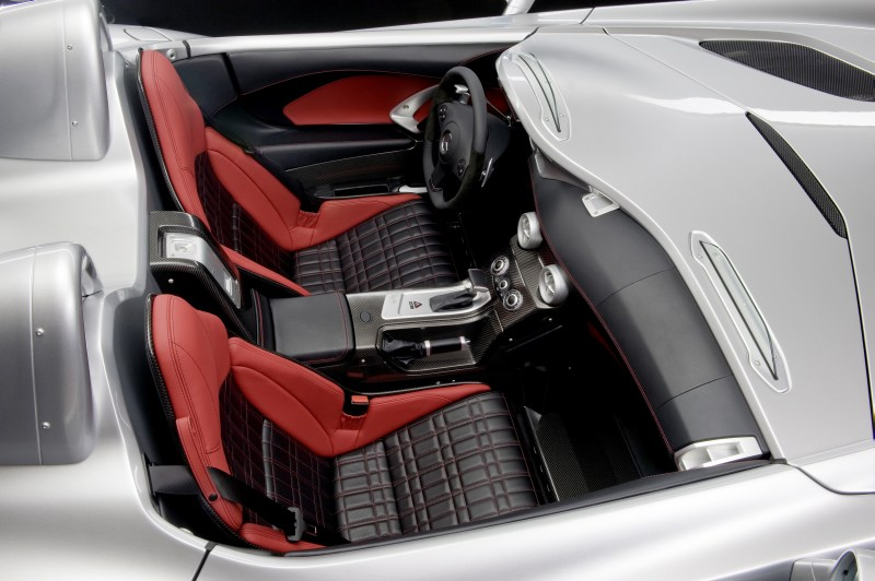New Pictures Of The Slr Stirling Moss Interior