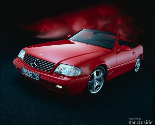 mercedes benz 1989 mercedes benz sl r129 series 01 536x430 A Day in History: The 1989 Mercedes Benz SL R129 series