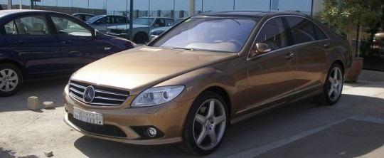 mercedes benz s class cl class sc500 tuned 2 540x222 If an S550 and a CL550 had a child: The CS500