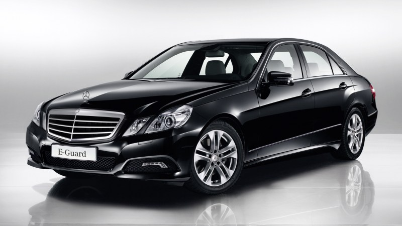 New mercedes benz e class guard models for Mercedes benz e class models