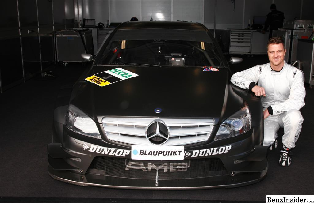 Ralf schumacher extends contract with amg mercedes team for Ralf benz